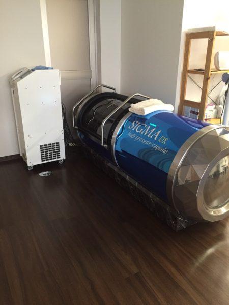 姫路市 松本鍼灸整骨院 酸素カプセル写真